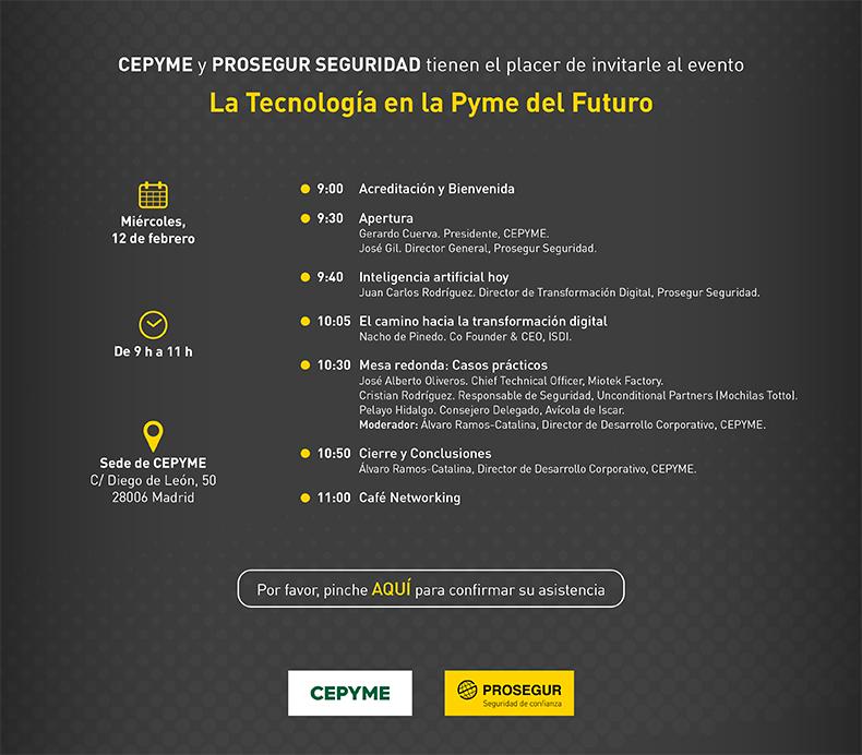 Invitacion-evento-CEPYME-PROSEGUR-tecnologia-pyme