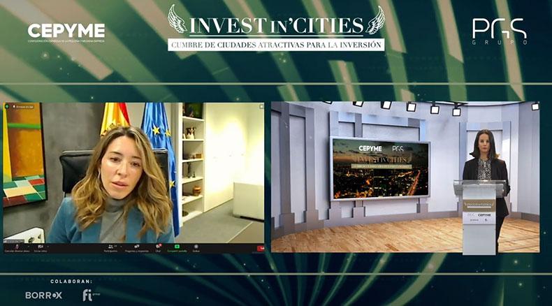 Xiana-Mendez-secretaria-Estado-de-Comercio-Laura-Nistal-directora-Invest-in-Cities