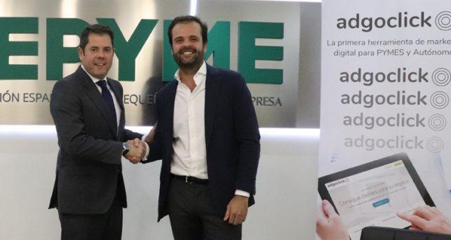 adgoclick-cepyme-firman-acuerdo-impulsar-innovacion-pymes-espanolas