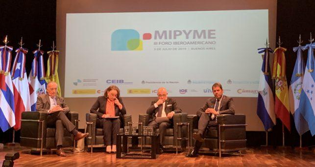 autoridades-argentinas-segib-ceib-ceoe-uia-inauguran-iii-foro-iberoamericano-mipyme