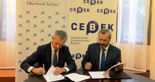 cebek-la-obra-social-la-caixa-firman-acuerdo-colaboracion-fomentar-emprendimiento-empresarial