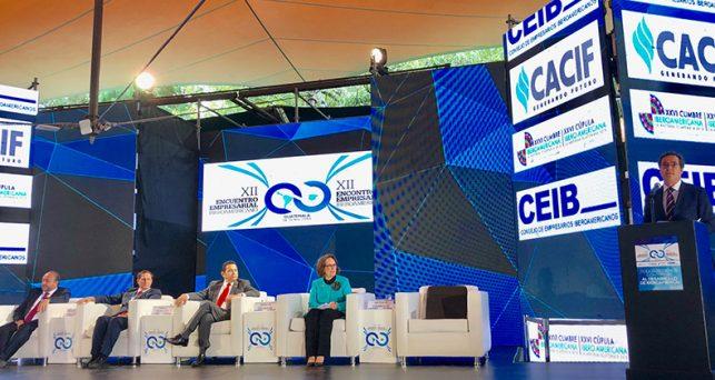 ceoe-ceib-segib-cacif-inauguran-xii-encuentro-empresarial-iberoamericano-la-antigua-guatemala