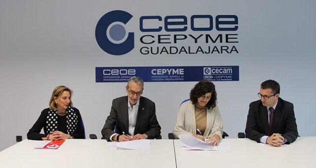 ceoe-cepyme-guadalajara-colaborara-caritas-diocesana-proximas-campanas-incentivar-la-rsc