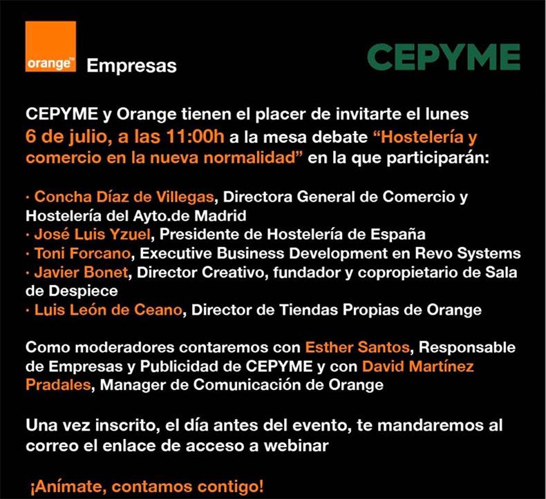 cepyme-orange-organizan-jornada-hosteleria-comercio-nueva-normalidad