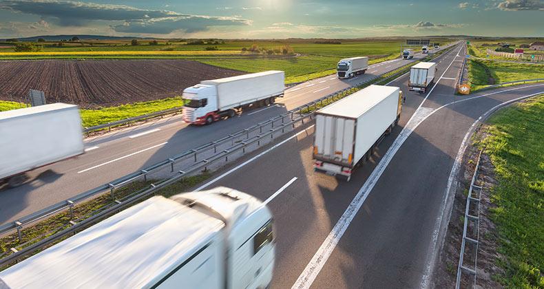 La demanda de transporte de mercancías por carretera acelera su crecimiento  - Cepymenews