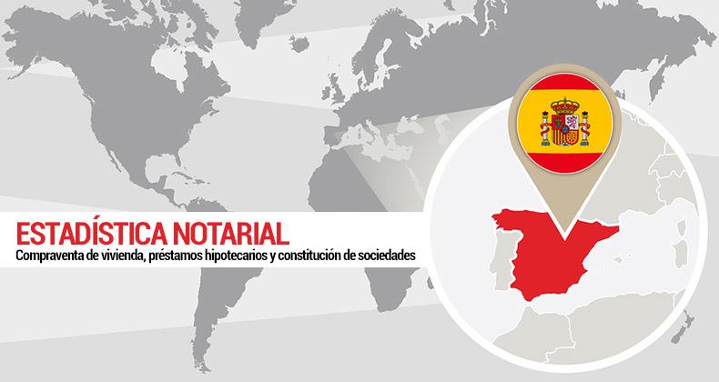 estadistica-notarial-compraventa-vivienda-prestamos-hipotecarios-constitucion-sociedades