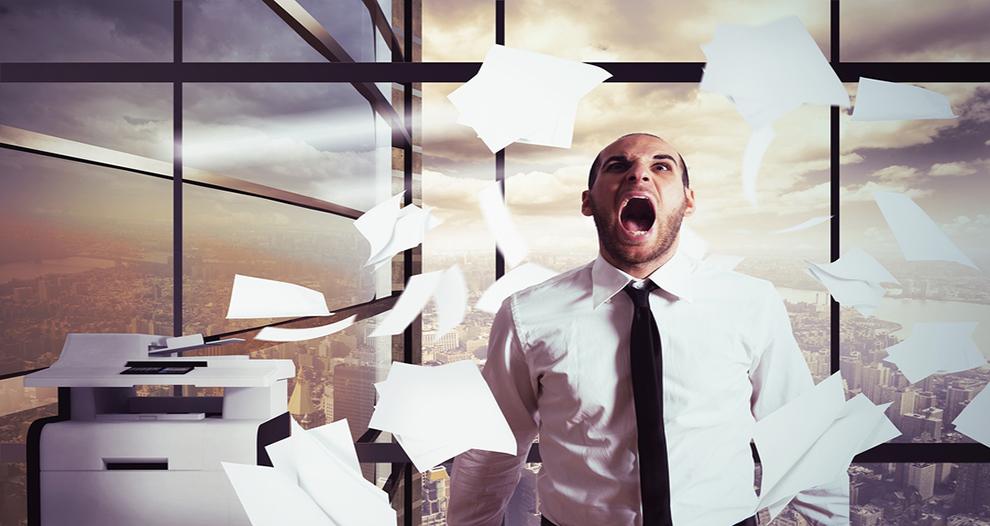 Como solucionar el estres en el trabajo