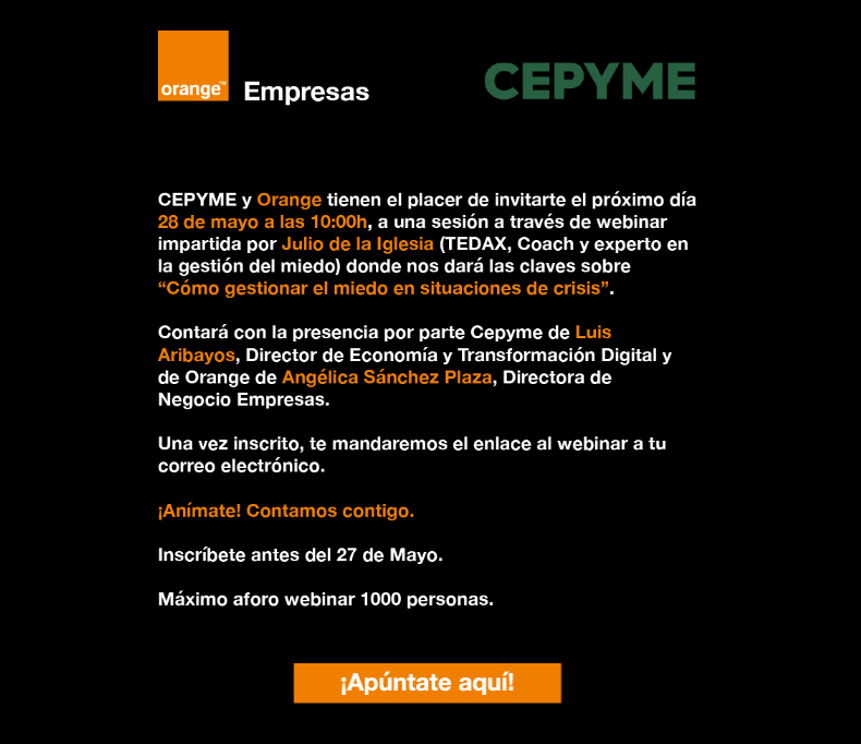 invitacion-webinar-cepyme-orange