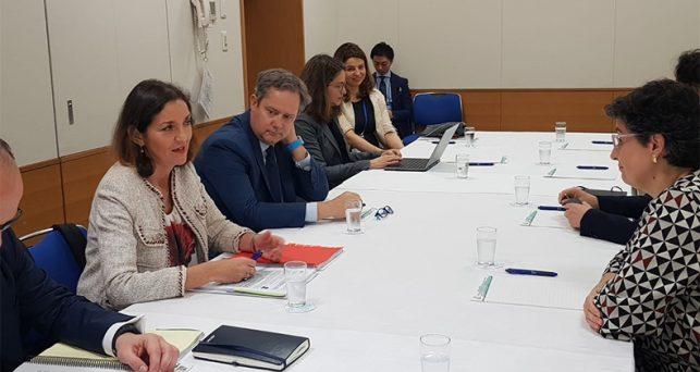 maroto-destaca-importancia-desarrollo-sostenible-cuestion-genero-comercio-internacional
