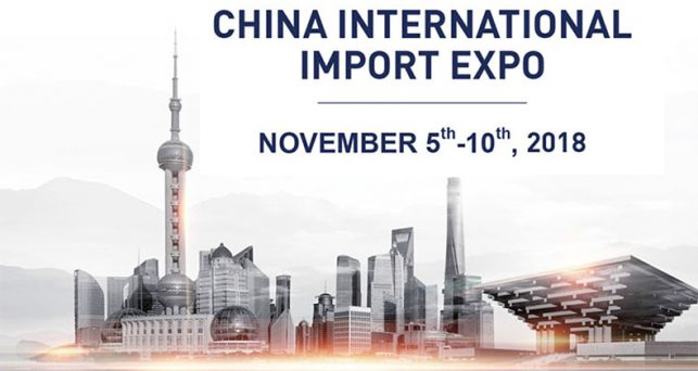Resultado de imagen de china international import expo