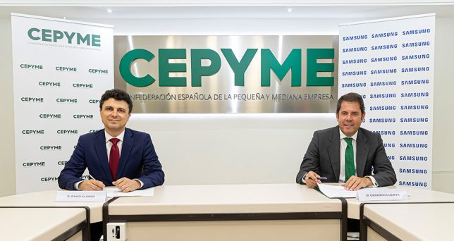 samsung-cepyme-firman-acuerdo-impulsar-transformacion-digital-empresas